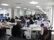 zatłoczone open office