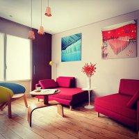 nowoczesny kolorowy pokój